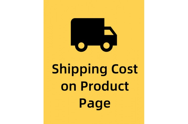 Opencart Extension Calculate shipping on product page