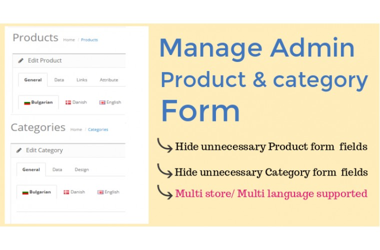 Opencart Extension simple easy quick product add form