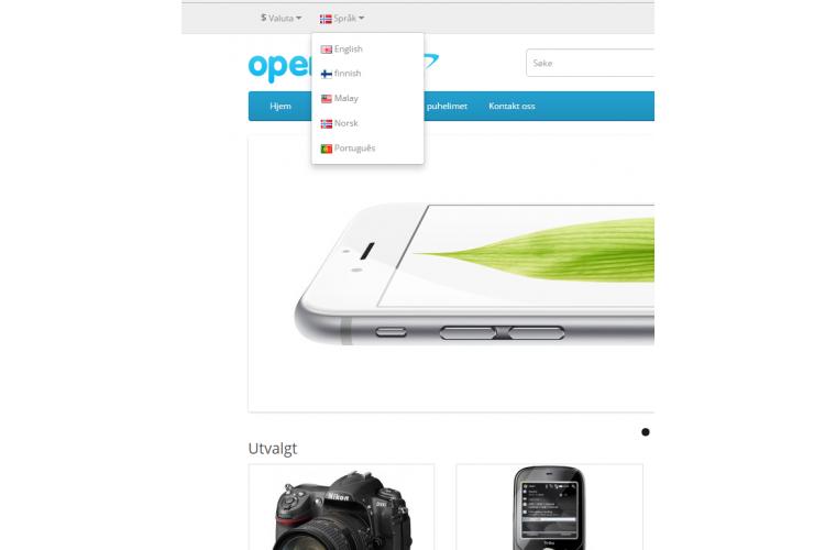Opencart Norwegian Language Pack - Full Pack ( Front / Admin )