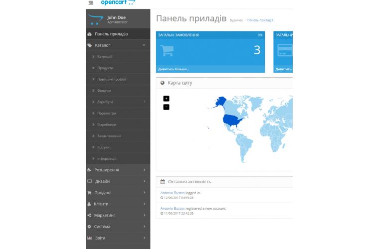 Opencart Ukrainian language Pack - Full Pack ( Front / Admin )