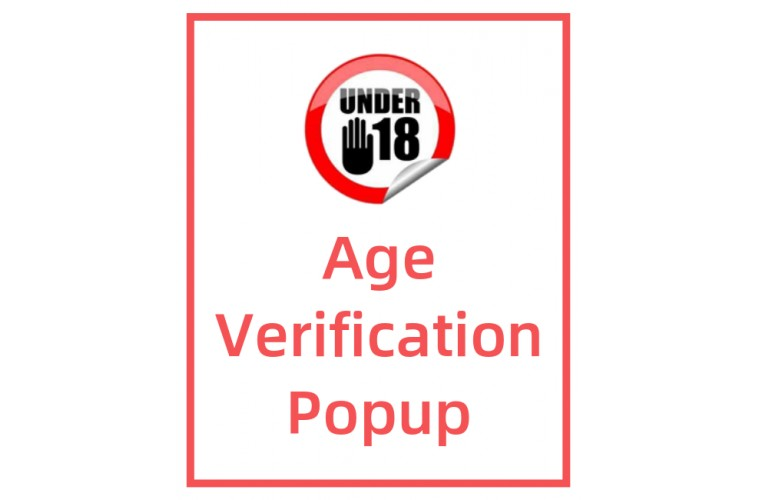 Opencart Extension Responsive Age Verification Popup
