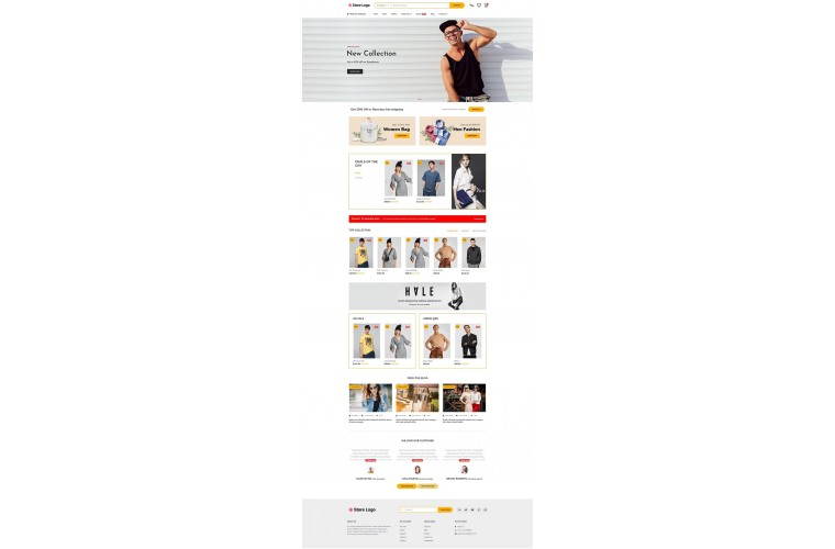 The Fashion - Premium responsive Opencart theme for fashion shop