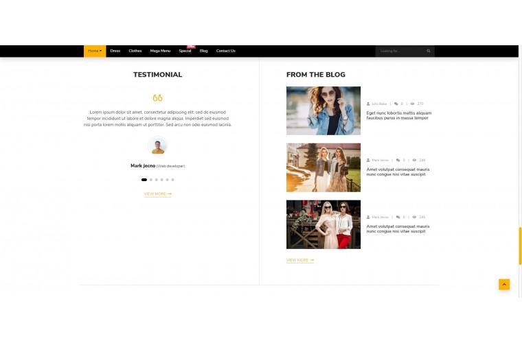 Boy Fashion Multi purpose Opencart theme