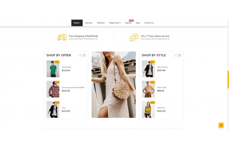 Shopica Fashion Advanced Opencart Theme