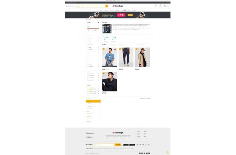 Fastor Fashion Advanced Opencart Theme