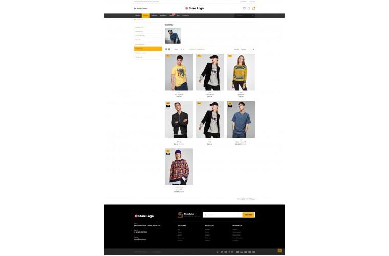 Fashion Market Shop - Multi-Purpose OpenCart Theme