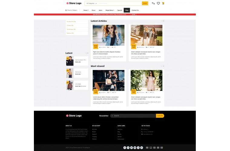 Rzen Fashion - Multi-Purpose OpenCart Theme