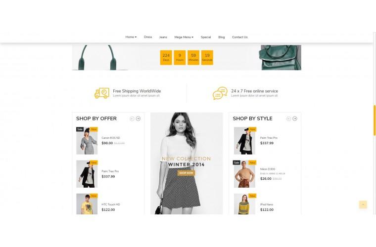 Fashion eMarket - Multipurpose MarketPlace OpenCart 3 Theme