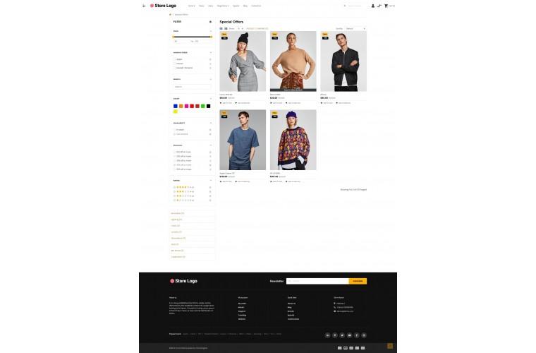 OXY Fashion - Multi-Purpose Responsive OpenCart 3 Theme
