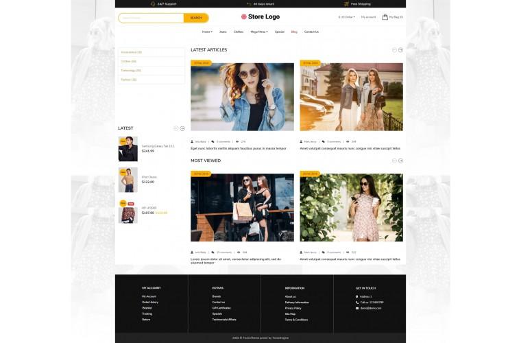 Fashion Revo - Drag & Drop Multipurpose OpenCart Theme