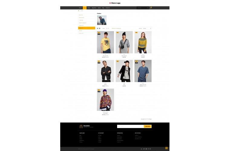 Fashion Pro Clean responsive OpenCart Theme