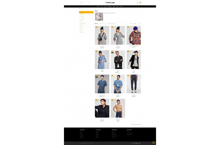 Light Fashion Premium Opencart theme