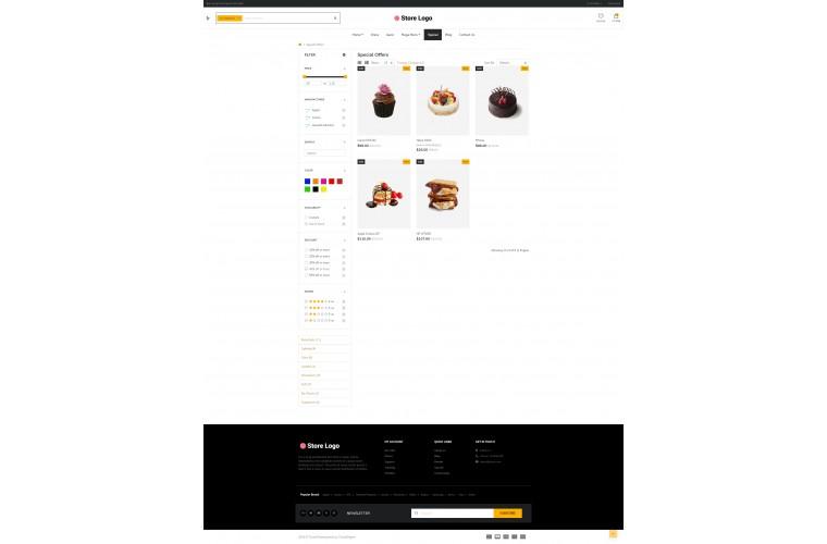 Cake eMarket - Multipurpose MarketPlace OpenCart 3 Theme