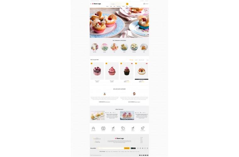 Sellya Bakery Multi-Purpose Responsive OpenCart Theme