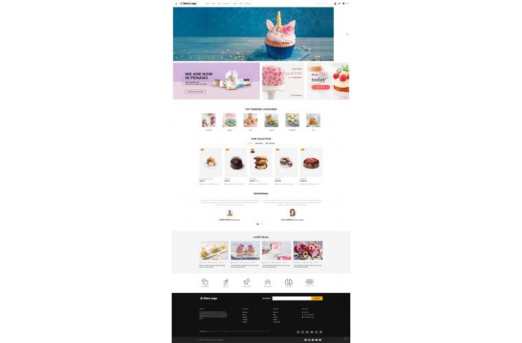 OXY Bakery - Multi-Purpose Responsive OpenCart 3 Theme