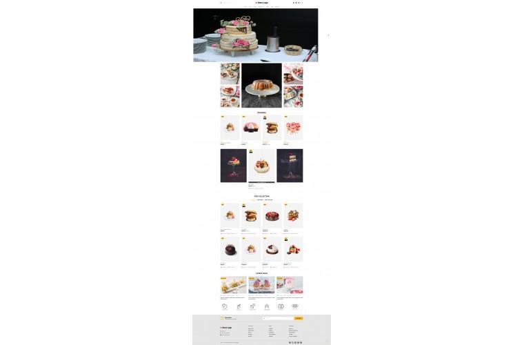 Fast Cake Advanced Opencart theme