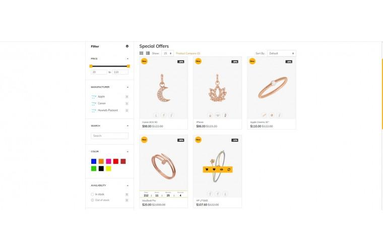 Grand Diamond Opencart fully responsive theme