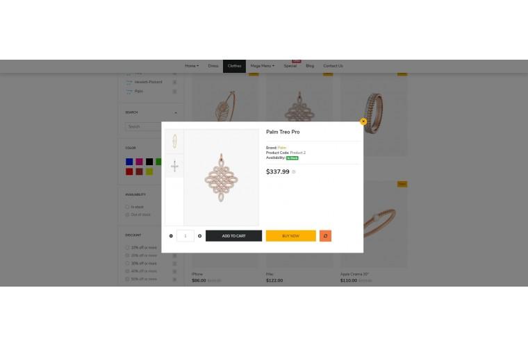 NUVO - Diamond & Jewellery Opencart 3 Multipurpose theme