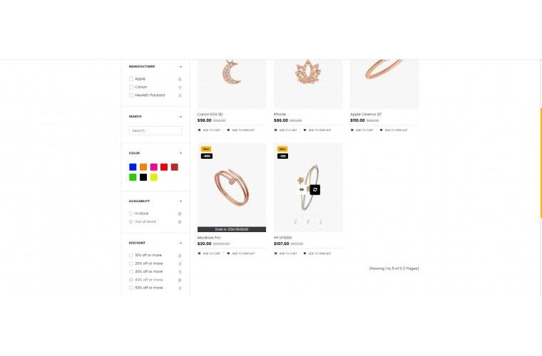 OC Diamond Multi Purpose Opencart theme
