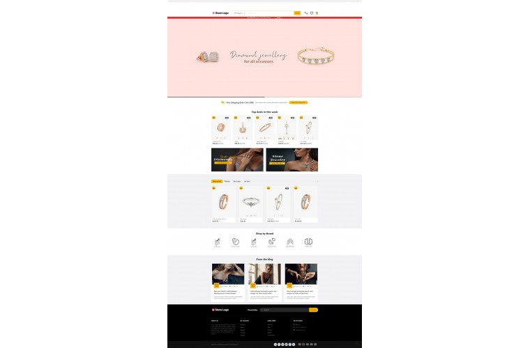 Journal Diamond Jewellery Advanced Opencart Theme