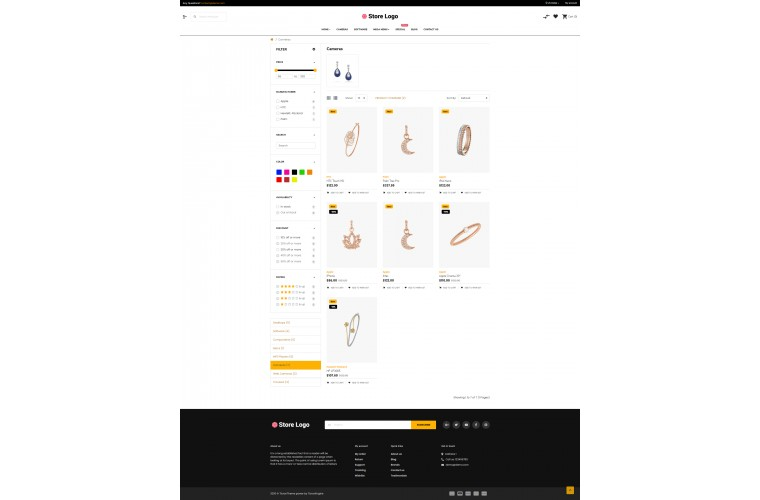 Sellegance Diamond Responsive and Clean OpenCart Theme
