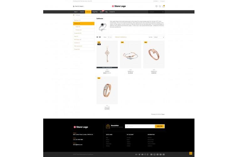 Diamond Market Shop - Multi-Purpose OpenCart Theme