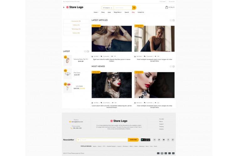 Sellya Jewellery Multi-Purpose Responsive OpenCart Theme
