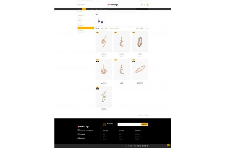 Diamond Bigshop Advanced Responsive OpenCart Theme