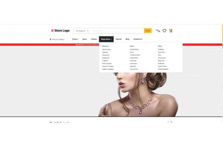 Diamond Market Shop - Advanced OpenCart Theme