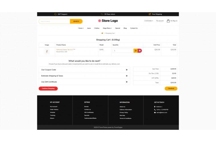 Diamond Revo - Drag & Drop Multipurpose OpenCart Theme