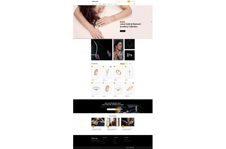 Faster Jewellery Pro Opencart theme