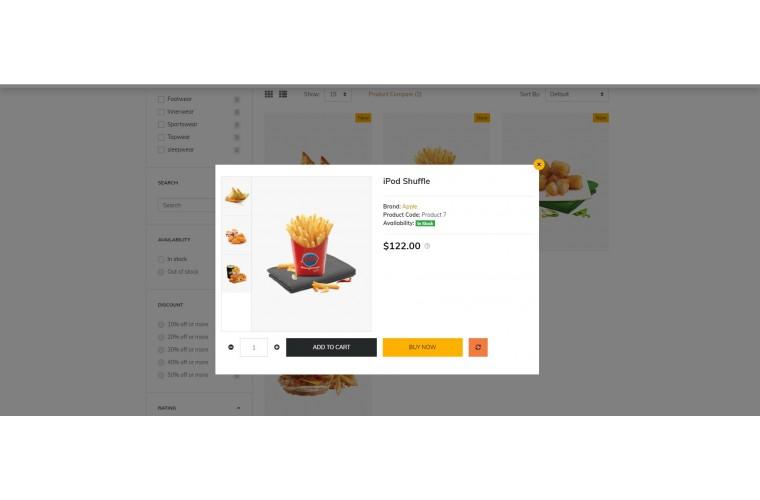 Shopica Food Advanced Opencart Theme