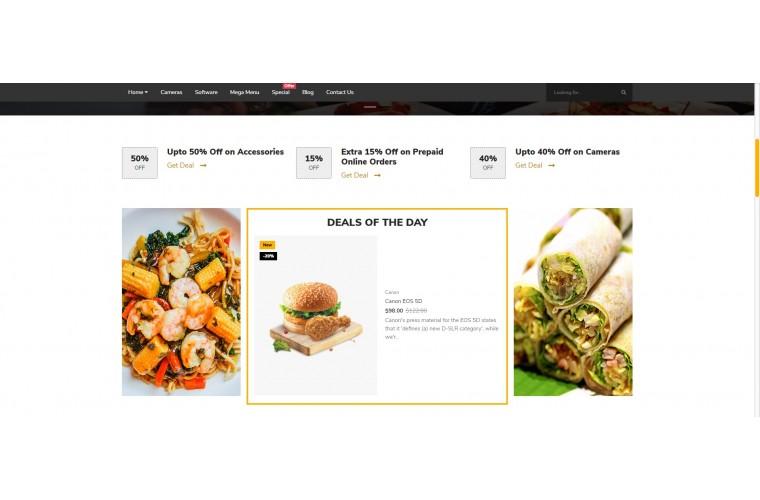 Food Market Shop - Multi-Purpose OpenCart Theme