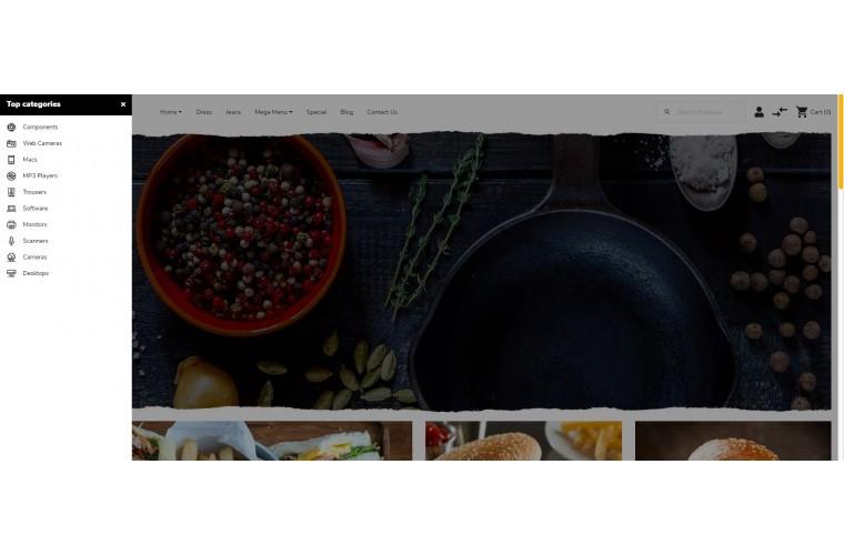 OXY Restaurant - Multi-Purpose Responsive OpenCart 3 Theme