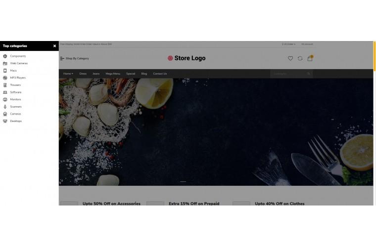 Food Bigshop Advanced Responsive OpenCart Theme
