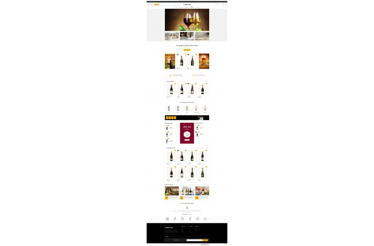NUVO - Liquor & Alcohol Opencart 3 Multipurpose theme
