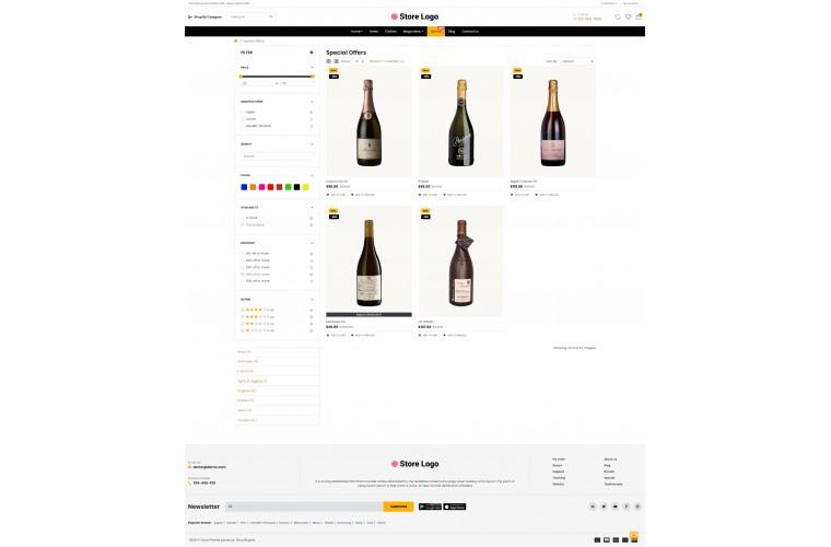 OC Liquor Multi Purpose Opencart theme