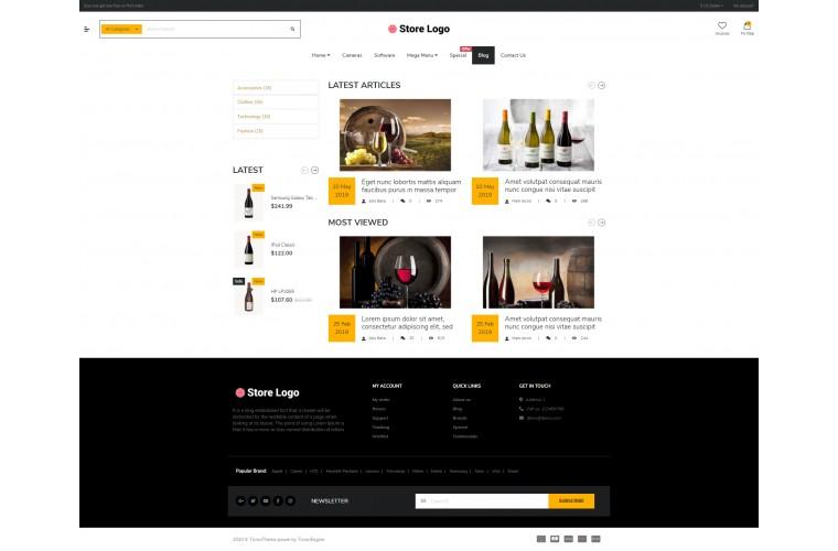 Shopica Liquor Advanced Opencart Theme