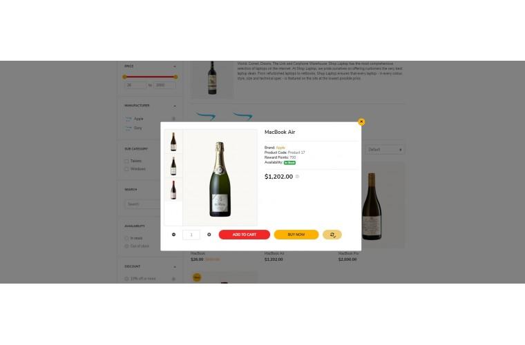 Fastor Liquor Advanced Opencart Theme