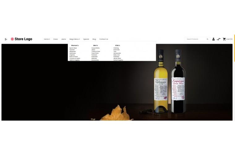 OXY Alcohol - Multi-Purpose Responsive OpenCart 3 Theme
