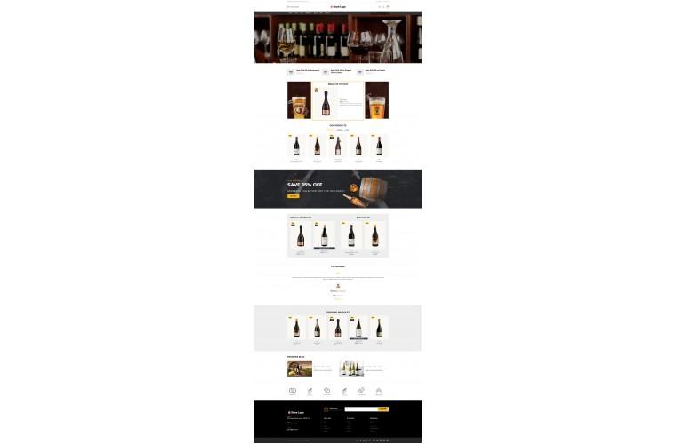 Liquor Bigshop Advanced Responsive OpenCart Theme