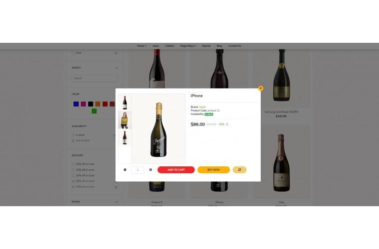 Liquor Revo - Drag & Drop Multipurpose OpenCart Theme