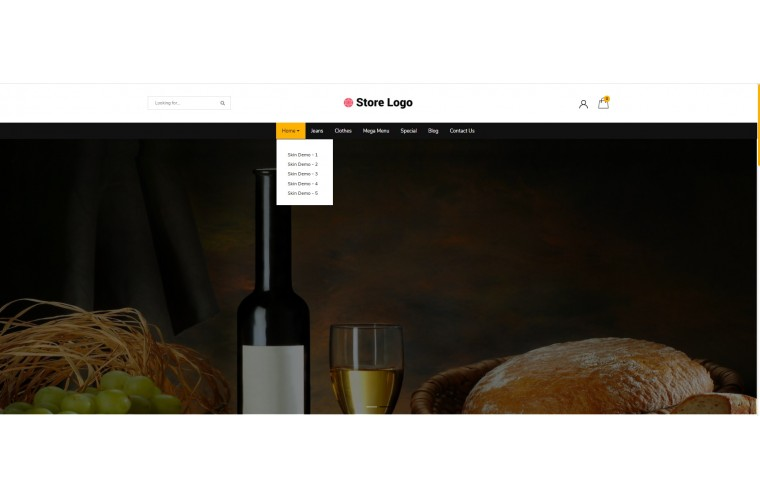 Light Alcohol Liquor Premium Opencart theme
