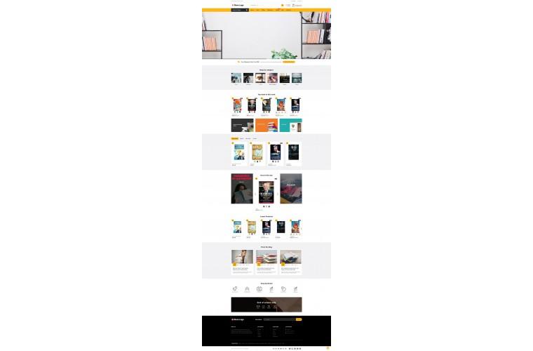 Grand Books Opencart fully responsive theme