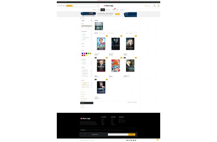 NUVO - Books & Stationery Opencart 3 Multipurpose theme