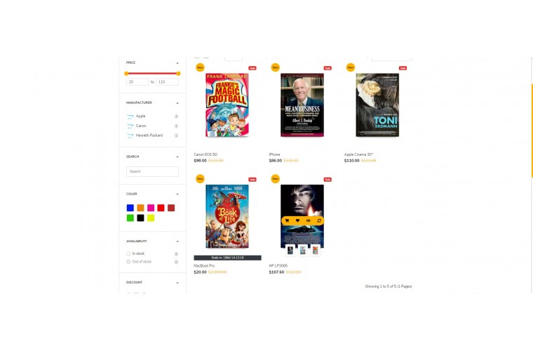 Books Stationery Opencart 3 opencart 4 Responsive theme