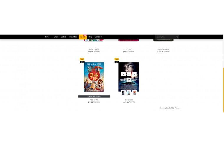 Easy Books Multi purpose Opencart theme