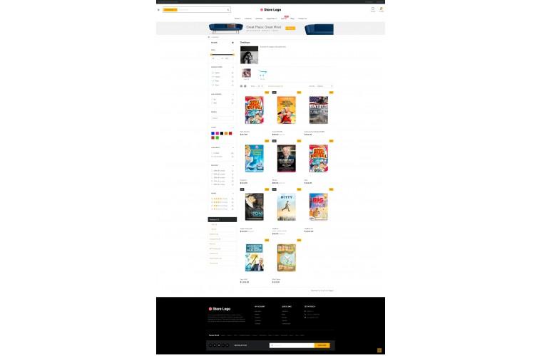 Shopica Books Advanced Opencart Theme