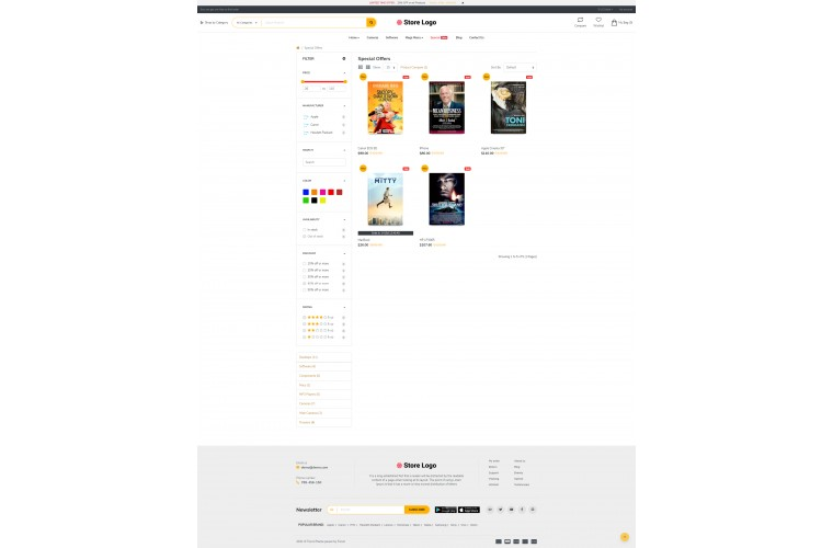 Fastor Books Advanced Opencart Theme