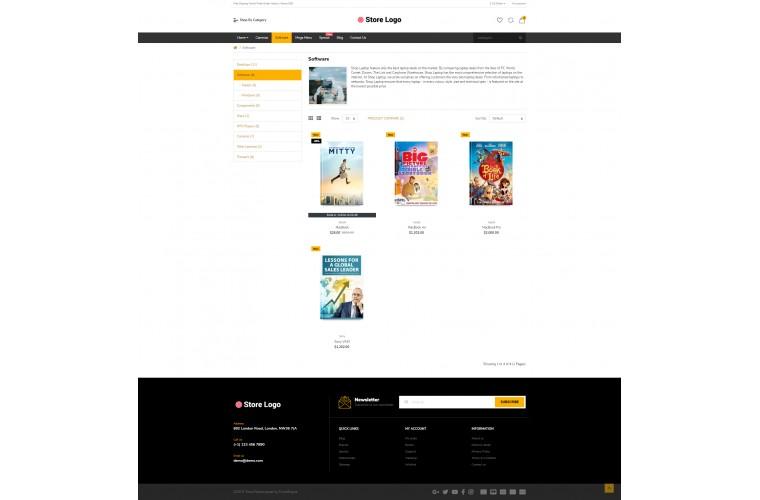 Books Market Shop - Multi-Purpose OpenCart Theme
